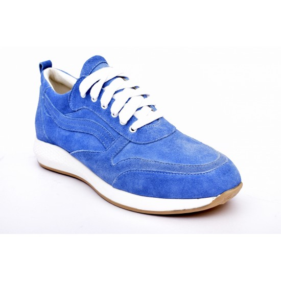 Comfort by Trace - Sneaker all leather castor